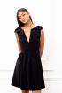 Petite robe décolleté avec noeuds aux épaules  Lilou Poldine