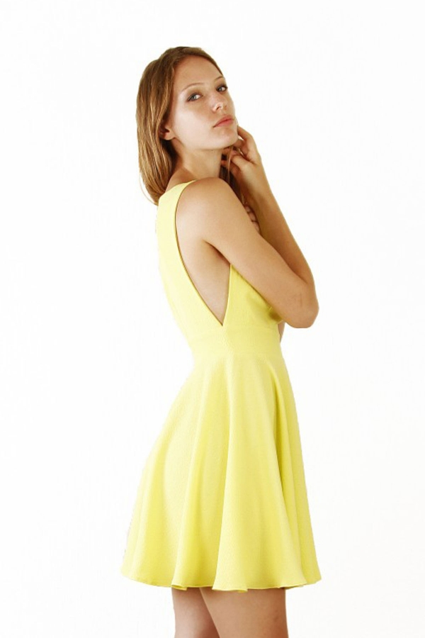 Petite robe courte évasée  Louise